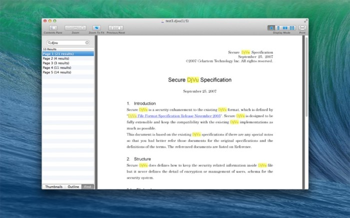 DjVu Reader Pro Screenshot 03 1382s7n