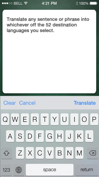 iHandy Translator Screenshot