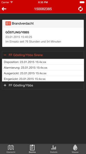 Grisu NÖ (Feuerwehr - WASTL) Screenshot