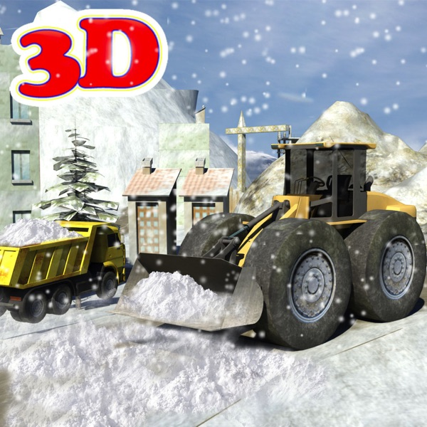 Snowplow Truck Driver simulator 3d game