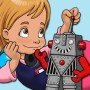 Messy Mia - Tales and Stories of Ancient Tech with Trivia Picture Quiz for Kids
