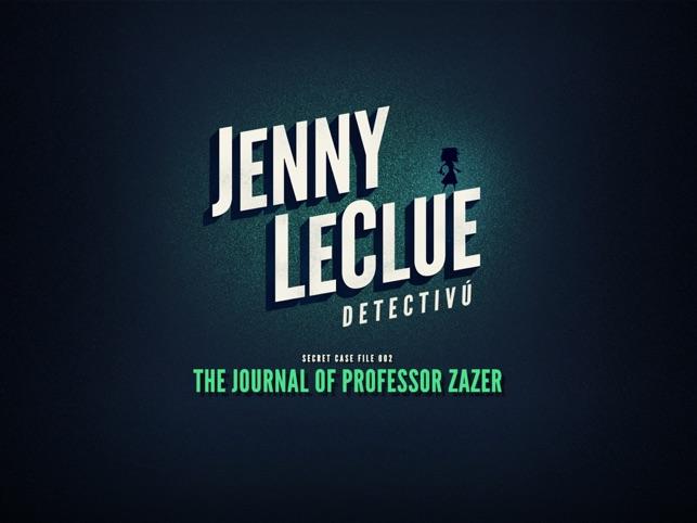 Jenny LeClue - Playable Teaser Screenshot
