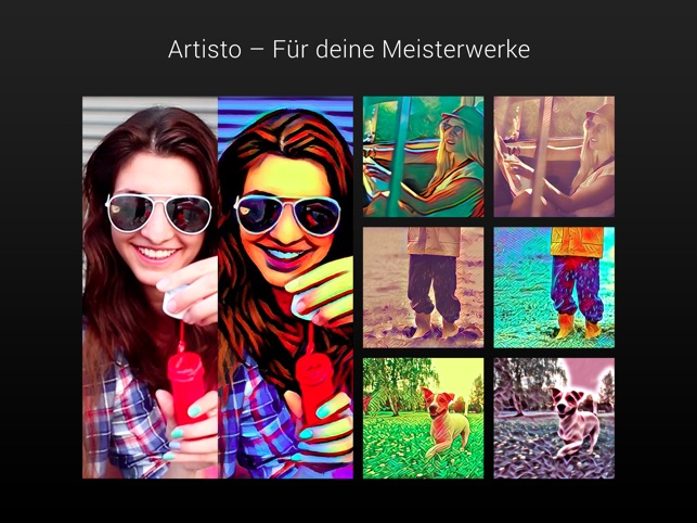 Artisto – Video und Foto-Editor Screenshot