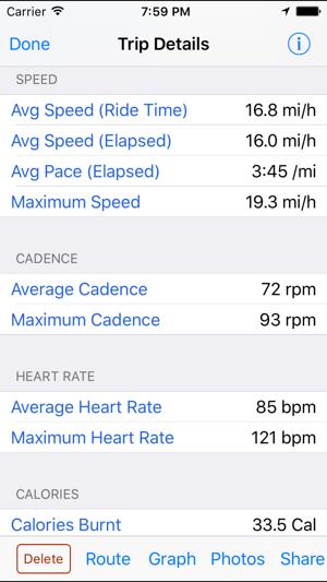 BioLogic BikeBrain – GPS bike and cycle computer Screenshot
