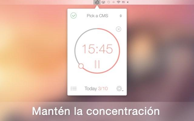 Be Focused - Temporizador para concentración Screenshot