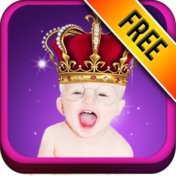 Baby Royals - Adds Royal Accessories to Photos