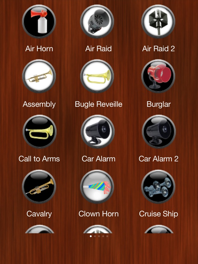 Horn und Sirene Ringtones Screenshot