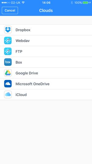 File Manager & Browser Capture d'écran