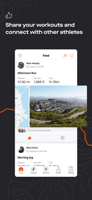 Strava: Run & Ride Training Screenshot