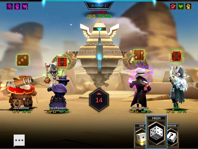 Dicast : Rules of Chaos Screenshot
