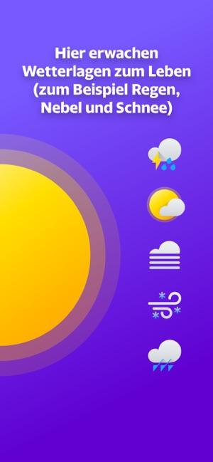 Yahoo Wetter Screenshot