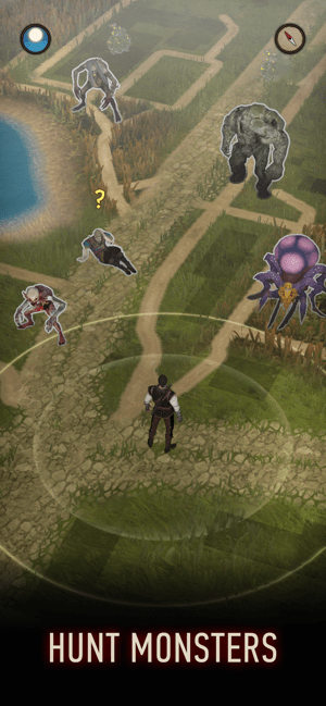The Witcher: Monster Slayer Screenshot