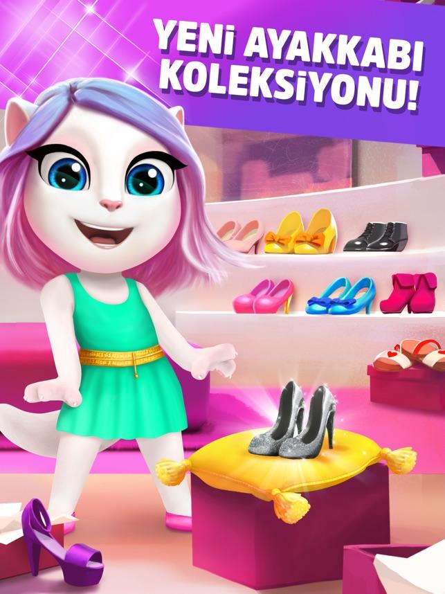 Benim Konuşan Angela'm Screenshot