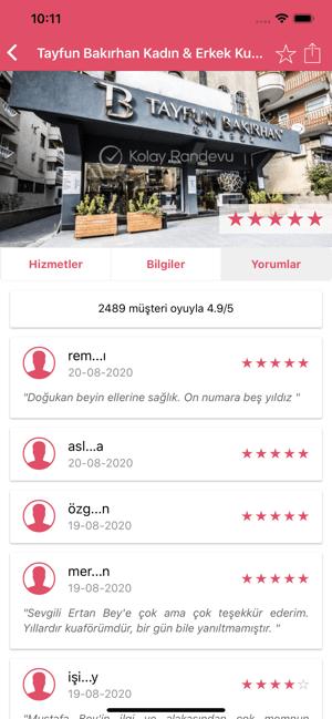 Kolay Randevu - Kuaför Bul Screenshot