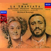 Dame Joan Sutherland, Luciano Pavarotti, Matteo Manuguerra, National Philharmonic Orchestra & Richard Bonynge - Verdi: La Traviata (2 CDs)  artwork