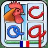 L'Escapadou - Dictée Muette Montessori - Apprends l'orthographe avec un alphabet mobile amusant ! illustration