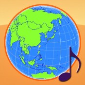 Globe Earth 3D: Flags Anthems and Timezones