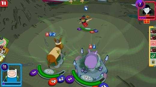Card Wars Kingdom – Adventure Time Kartenspiel Screenshot