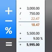 CalcTape - calculadora de fita de papel com Notas