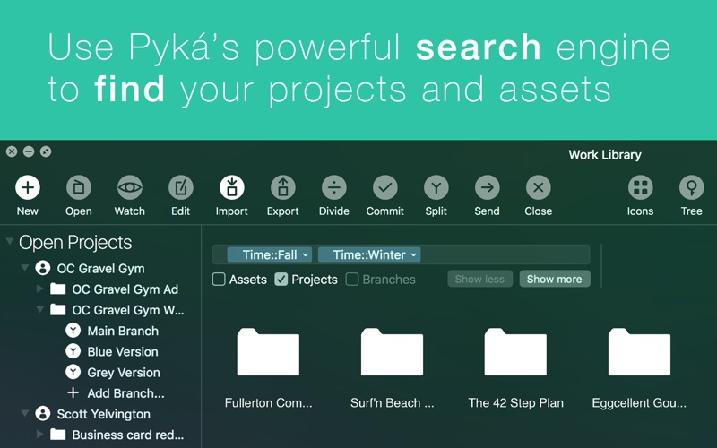 Pyká Project Manager for Mac 1.0.7 破解版 - Mac项目管理软件