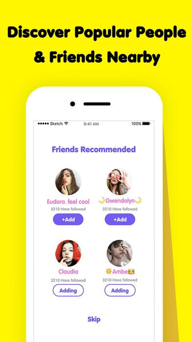 GoAddMe - Make More Friends App Download - Android APK