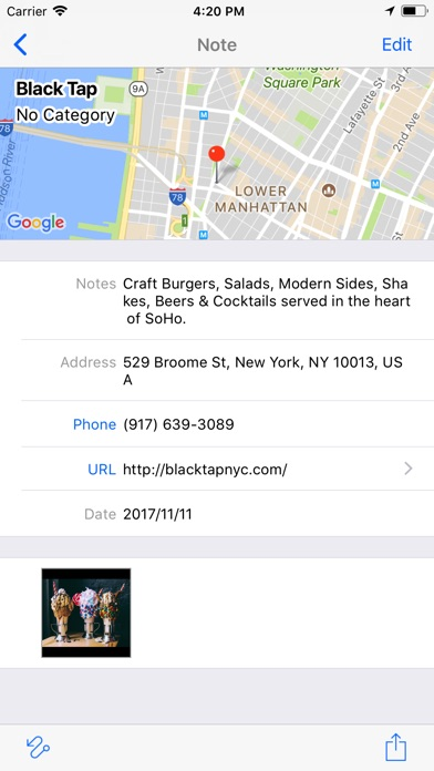 Screenshot do app GeoMEMO - Create Your Own Map