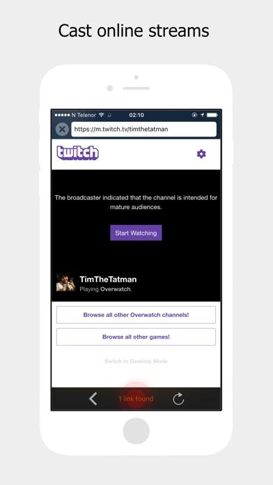 StreamBeam Screenshot