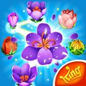 Blossom Blast Saga - Puzzle mit Wachsenden Blumen