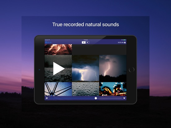 Sleep Sounds - 自然、雨、白い騒音 Screenshot