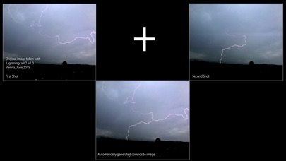 Screenshot do app iLightningCam 2 - Lightning Strike Photography