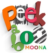 Peekaboo Moona: Fun First Games by Baby & Toddler
