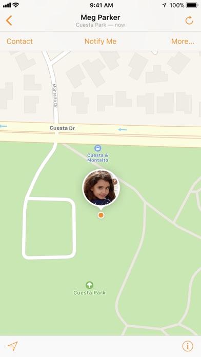 Meine Freunde suchen Screenshot