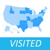 Visited States Map Pro