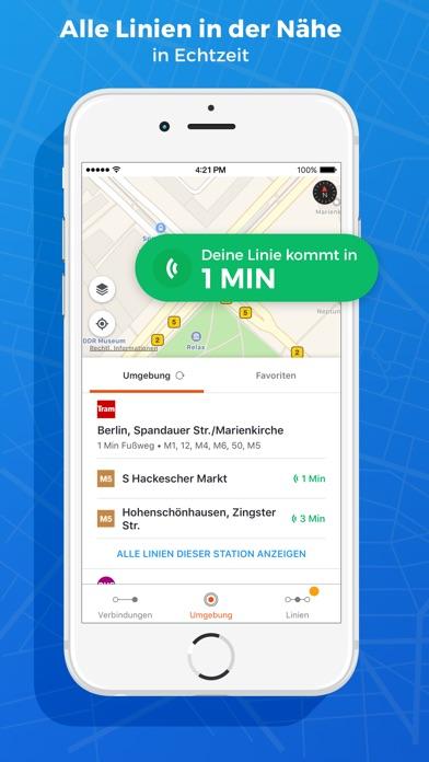 Moovit - #1 ÖPNV-App Weltweit Screenshot