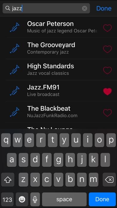 Radium for Internet Radio Screenshot