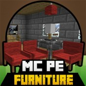 Furniture for Minecraft PE ( Pocket Edition ) - Available for Minecraft PC too