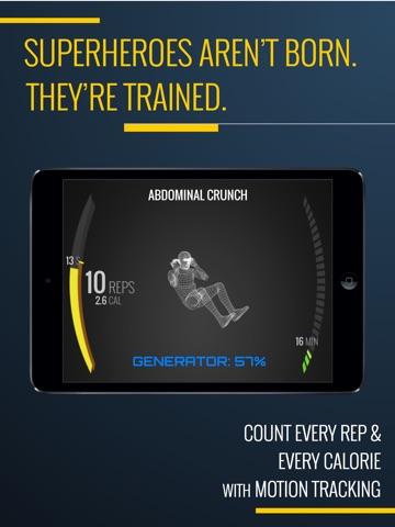 7 Minute Superhero Workout Screenshot