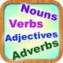 English Grammar -  Nouns, Verbs, Adjectives and Adverbs