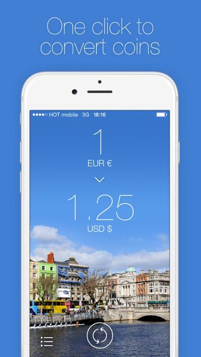 Screenshot do app Change - Currency Converter