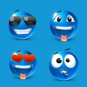 Gif stickers & emoji art -  for Kik,WhatsApp,Facebook Messenger