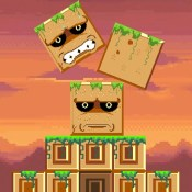 Mayan Tower - Stack the Blocks