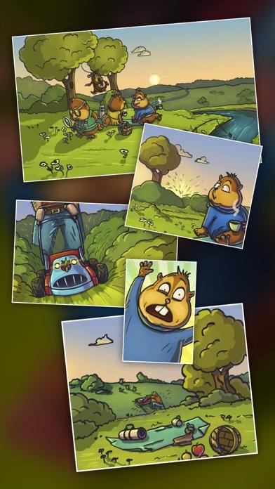 Screenshot do app Chipmunks' Trouble — engraçada quebra-cabeças
