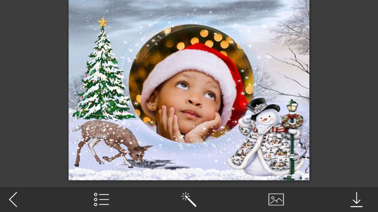 Xmas Frame Pic Editor For Yourmoments By Vaghani Harshoben