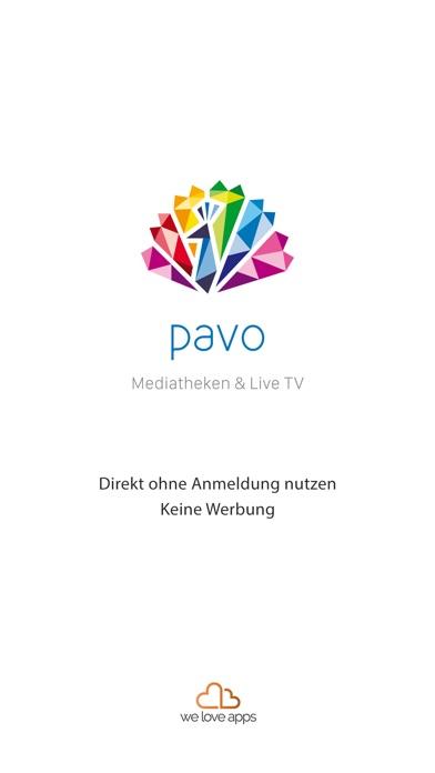 pavo Mediatheken & Live TV Screenshot