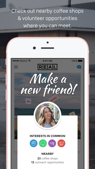 Real – Meet New Friends App Download - Android APK
