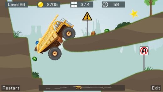 Big Truck -Mine Express Racing Screenshot