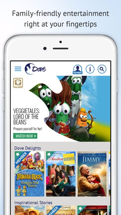 Dove Channel - Family Shows on the App Store