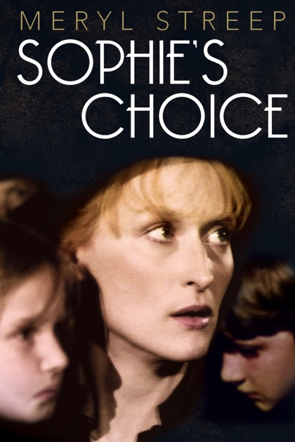 Image result for sophies choice poster