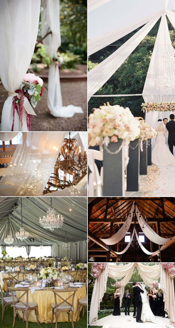 Id Love To The Explore Possibilities Of Draping Fabric For Decor At Special Events I Did A Few Quick Searches And Had Trouble Finding Any Good