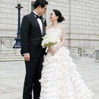 Decoração: casamento azul marinho e branco